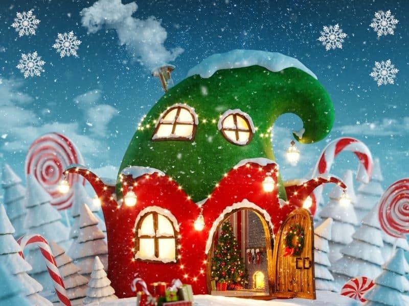 Magical Christmas Fairy Doors